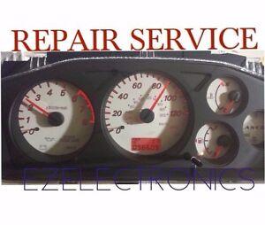2002 TO 2007 MITSUBISHI LANCER INSTRUMENT CLUSTER REPAIR SERVICE GAUGES SPEEDO