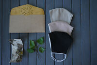 Mundschutzmaske mit Birkenrinde filter Organikprodukt Naturmaterialien Handmade