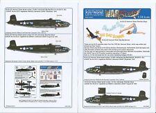 Kits World  B-25J Mitchell, 'Hanover Street' Movie Decals 1/32 060 DO, 2 Options