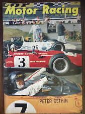 Motor Racing - BRSCC journal - magazine - November 1969