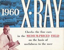 AMERICAN MOTORS X RAY Vegleich De Soto Dodge Pontiac Prospekt Brochure 1960 94