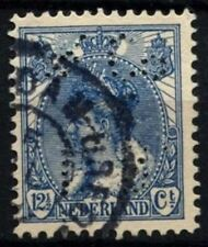 Netherlands 1899-1923 SG#180, 12.5c Blue Used Perfin L.R.&Co #D71255