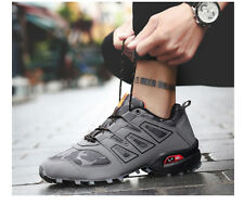 Mens Lightweight Hiking Shoes Breathable Casual Walking Sneakers for Athletic