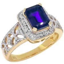 Blue Not Enhanced Yellow Gold Fine Jewellery