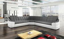 Couchgarnitur Wohnlandschaft INFINITY L Sofa Couch Polsterecke Ecksofa