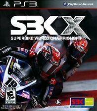 PS3 SBK X: Superbike World Championship (Sony PlayStation 3, 2010)