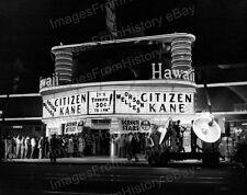8x10 Print Citizen Kane Premier 1941 Hawaii Theatre Orson Welles #CK1