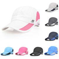 Fashion Women Men Baseball Ball Cap Outdoor Golf Sports Cotton Casual Sun Hats