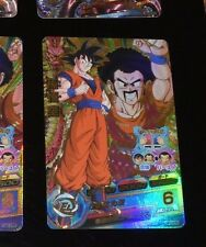 DRAGON BALL Z DBZ DBS HEROES CARD PRISM HOLO CARTE HG2-CP5 CP MADE IN JAPAN **