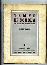 TEMPO DI SCUOLA#Mensile Ord. Medio/Superiore/Artistico-An.III-N.4#Febbraio 1942