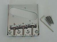 Vintage Tele Style Guitar Bridge Chrome for Telecaster Guitar