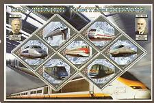 BENIN 2006 MODERN TRAINS S/SHEET MNH