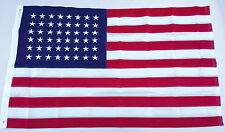 3x5 Ft EMBROIDERED 48 STARS NYLON USA US OLD GLORY STAR SPANGLED AMERICAN Flag