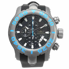 Silicone/Rubber Band Titanium Case Watches with Chronograph