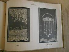 CATALOGUE DE DENTELLES  - AUDIERNE - V 1900