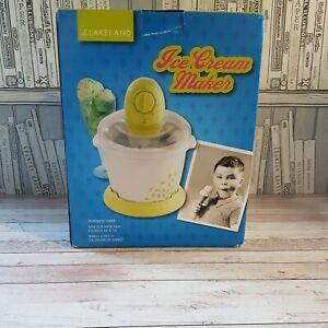 Lakeland Ice Cream/Sorbet Maker 0.75litre