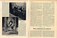 Die deutsche Botschaft in Paris Orig.Foto-Report mit histor.Aufnahmen von 1904