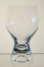 "GINA BOHEMIA Water Goblet 5 1/2"", Thick Solid Stem"