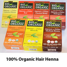 Henna Hair Dye 100% Organic Natural Hair Colour Brown Red 100g Free Shipping AUS
