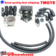 Universal AN6 Fitting EFI Fuel Pressure Regulator For 7MGTE MKIII With Hose BK