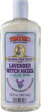 Lavender Witch Hazel with Aloe Vera, Thayers, 12 oz
