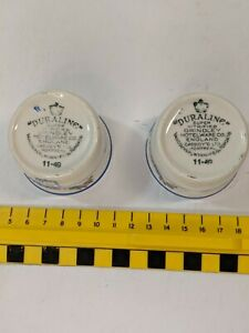 2 Duraline Grindley HotelWare Creamer Sauce Cup Made in England  11-49