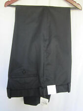 John W. Nordstrom Men's Casual Pants 36x32 NWT Black 100% Cotton