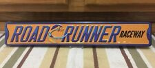 Road Runner Raceway Street Metal Gas Oil Garage Auto Coupe Plymouth Challenger