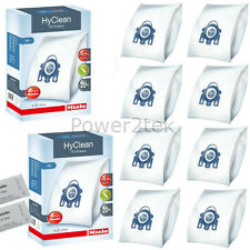 8x Genuine Miele GN, 10123210 Vacuum Cleaner Bags for Complete C3 Revolution 500