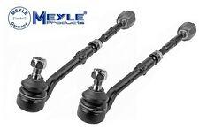 BMW X5 00-06 E53 Pair Set of 2 Steering Tie Rod Assemblies Meyle HD 3160300010HD