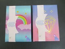 Lot of 2~More Than Magic Light-Up Journals~Rainbow & Diamond Designs~New