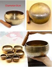 Copper Buddha Sound Bowl Alms Bowl Yoga Chinese Tibetan Meditation Singing Bowl
