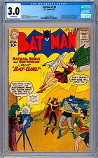 BATMAN #139 CGC 3.0 *1ST APP ORIG BATGIRL* BATWOMAN APP MOLDOFF COVER & ART 1961
