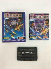 Escuadrón de las Naciones Unidas Commodore 64 C64 128 juego de computadora Caja Grande Cassette