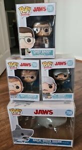 Funko Pop! Complete Set Of Jaws Movie Figures x4