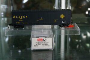 N Scale 75010 Micro Trains Alaska RR 50' Box Car