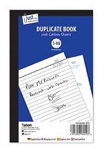Libro de duplicados Notebook-sólo Papelería Trabajo Lote-numerado 1-80