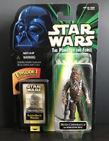 "Star Wars POTF Hoth Chewbacca 3.75"" Figure Flash Back Photo 1998 Kenner Hasbro"