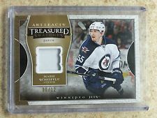 15-16 UD Artifacts #TS-MS Treasured Swatches Patch Gold MARK SCHEIFELE /12