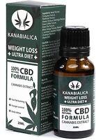 KANABIALICA - drops 20ml. Weight loss +ULTRA DIET+ Hemp oil. 100% Natural