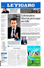 Le Figaro 17.2.2017 N°22558*MACRON colonisation*G20*Theresa MAY*RUSSIE influence
