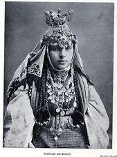 Frau in Volkstracht aus Prepolje * Bilddokument von 1908