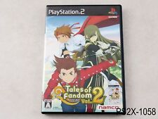Tales of Fandom (A Cover) Playstation 2 Japanese Import JP Japan PS2 US Seller B