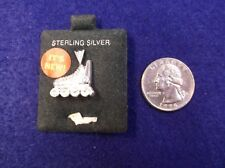 """NEAT NOS VTG LADIES or GIRLS STERLING SILVER CHARM or PENDANT - """"IN-LINE SKATE"""""""