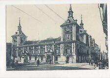 Madrid Ayuntamiento Vintage Postcard Spain 646a