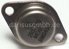 1 Stk. 2N3773  2N3773G  ON/Motorolla NPN Transistor 140V  16A  TO3 NEW