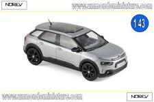 Citroën C4 Cactus 2018 Aluminium Grey & Black deco  NOREV - NO 155476 - Ech 1/43