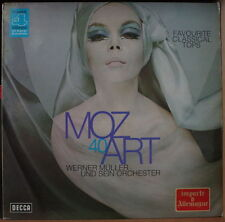 WERNER MÜLLER FAVOURITE CLASSICAL TOPS CHEESECAKE COVER ART GERMAN PRESS LP