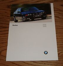 Original 1997 BMW Sedan Sales Brochure 97 318i 328i