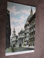 Early postcard - Cannon street - City of London